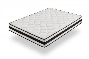Colchón Visco Soft 105 X 200 Cm - Alta Durabilidad, Antiácaros - Grosor: +/-21 Cm - Moonia Maxim