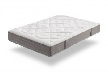 Colchón Viscoelástico Gel  100x190cm - Alta Durabilidad, Antiácaros - Grosor +/- 26 Cm - Moonia Platinum Classic