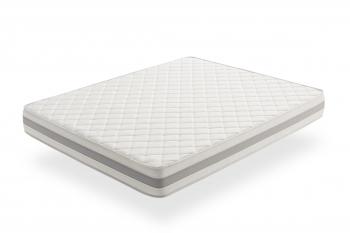 Colchón Visco Soft  110x190cm - Alta Durabilidad, Antiácaros - Grosor +/- 21 Cm - Moonia Naturcare Aloe Vera