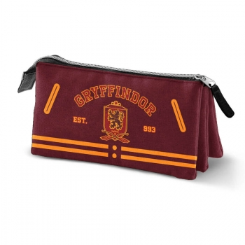 Estuche Triple Harry Potter Gryffindor