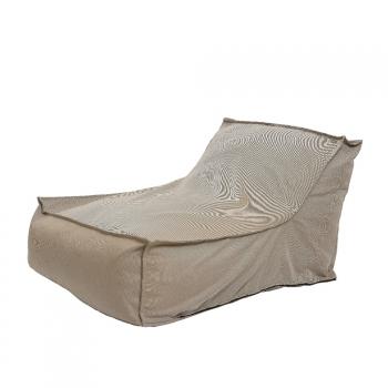 Chaise Longue A Rayas Para Exterior 108x80x72cm