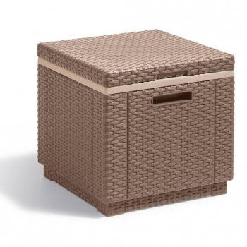 Caja Nevera Ice Cube Capuchino 223761 Allibert