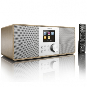 Lenco Dab+/fm Radio Con Internet Dir-200 Marrón