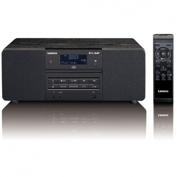Lenco Dab+/fm Radio Con Reproductor De Cd/mp3 Dar-050 Negra