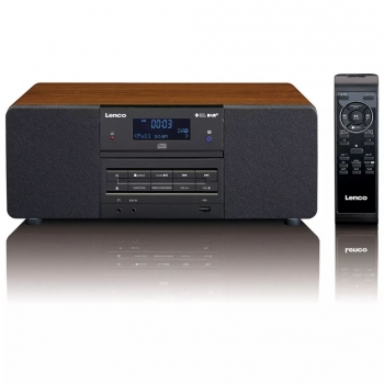 Lenco Radio Con Reproductor De Cd/mp3 Dab+/fm Dar-050 Madera