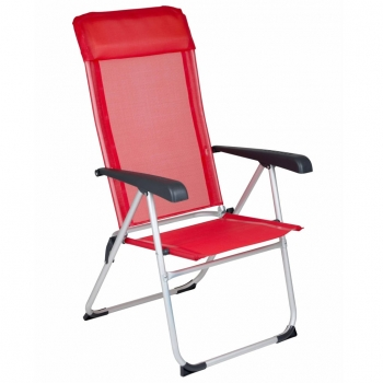 Silla De Camping Nice Rojo Red Mountain