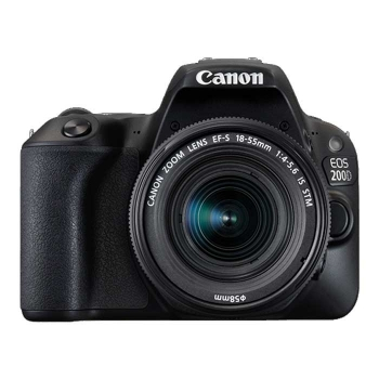 Canon Eos 200d + Canon Ef-s 18-55mm F/4-5.6 Is Stm Negro