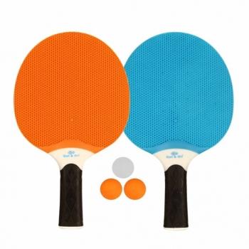 Get go Set De Tenis De Mesa Azul   Naranja   Gris Claro 61up a4c2ec1ce1c00