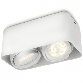Philips Myliving Foco Led Cubo Afzelia 2x4,5 W Blanco 532023116