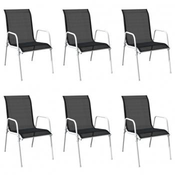 Sillas y sillones de exterior jard n y terraza for Sillas comedor negras baratas