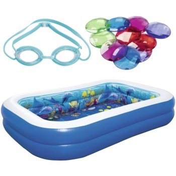 Bestway Piscina Hinchable Undersea Adventure 54177