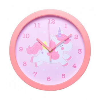 Reloj De Pared Little Lovely Unicorn