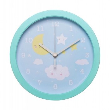 Reloj De Pared Little Lovely Nube