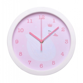 Reloj De Pared Little Lovely Cisne