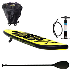 Tabla De Paddle Surf Hinchable 232x60x10 + Pack Seaboat