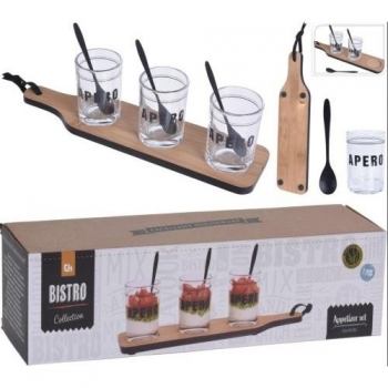 Set Tabla Con Vasos 7pzas 210000520