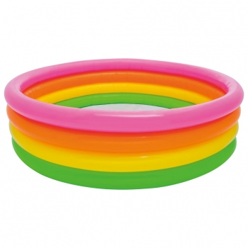 Piscina Inflable Sunset 4 Anillos 168x46 Cm Intex