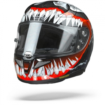 Casco De Moto Hjc Rpha 11 Venom 2 Marvel Mc1
