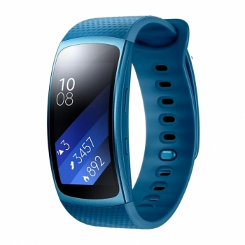 Pulsera Cuantificadora Samsung Gear Fit 2 Large Blue