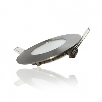 Downlight Led Redondo Apolo 5w Niquel Natural 4000k