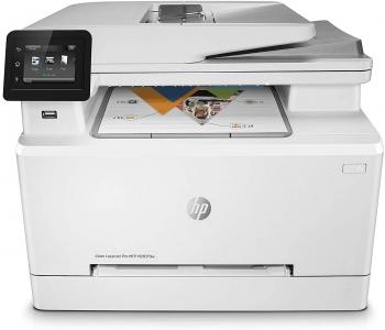 Impresora Láser Multifunción Hp Color Laserjet Pro Mfp M283fdw,  A4 21ppm Color, Fax, Escáner, Copiadora