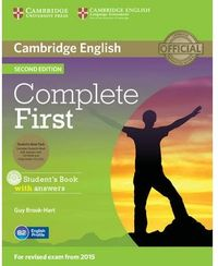 (15).complete First Certif.pack (st+key+cdroom+class Cd) 2ª