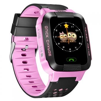 34bacf5b09a5 Smartwatch Para Niños Sw-kidz De Smartek Con Gps Y Teléfono Color Rosa