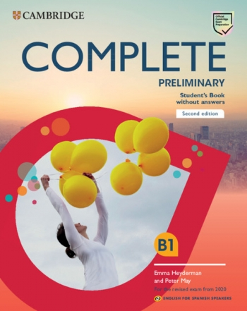 Ccomplete Preliminary For Spanish Speakers Students Book Without Answers Second Edition