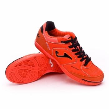 check out 9d60f df1ab Botas Fútbol Joma Top Flex 807 Naranja Hombre Suela Lisa