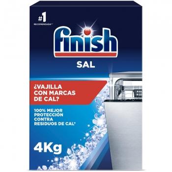 Sal para lavavajillas Finish 4 kg.