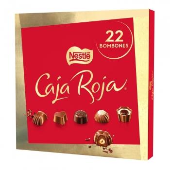 Bombones surtidos de chocolate Nestlé Caja Roja 200 g.