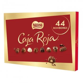 Bombones surtidos de chocolate Nestlé Caja Roja estuche 44 ud.