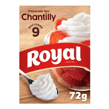 Preparado tipo chantilly en polvo Royal 72 g.