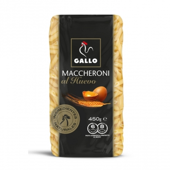 Maccheroni al huevo Gallo 450 g.
