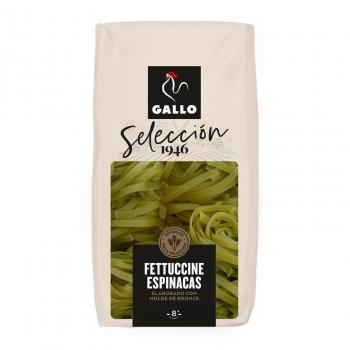 Fettuccine de espinacas Gallo 450 g.
