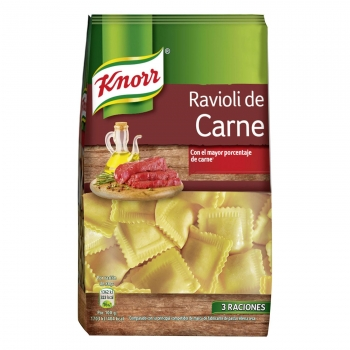 Ravioli de carne Knorr 250 g.