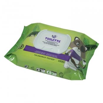 Toallitas húmedas higiénicas infantiles Carrefour Soft 100 ud.