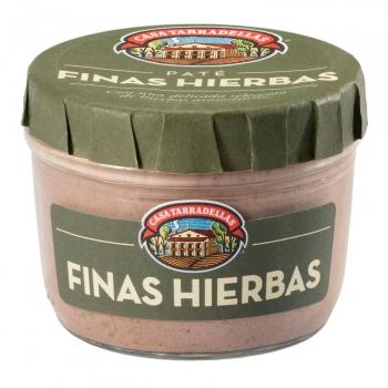 Paté a las finas hierbas Casa Tarradellas sin gluten 125 g.