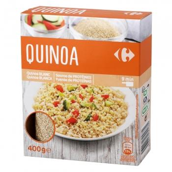 Quinoa blanca Carrefour 400 g.