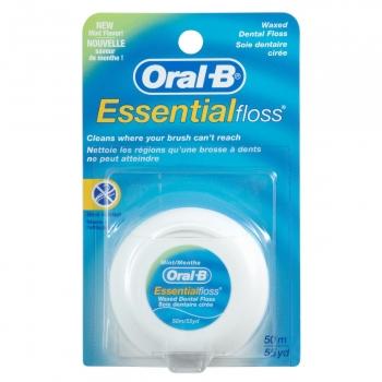 Seda dental menta Essencial Floss Oral-B 50 m.