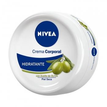 Crema corporal hidratante con aceite de oliva Nivea 300 ml.