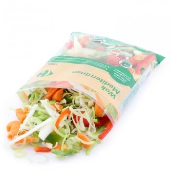 Verduras para Wok mediterráneo Carrefour 400 g