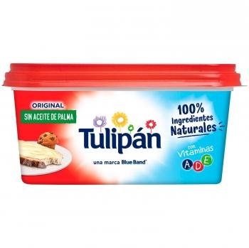 Margarina Tulipán sin gluten sin aceite de palma 450 g.