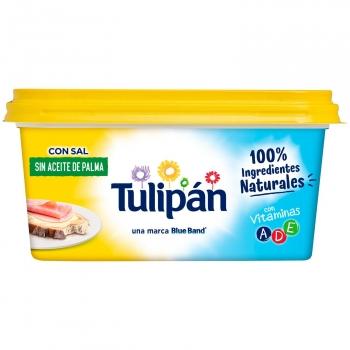 Margarina con sal Tulipán sin gluten sin aceite de palma 450 g.