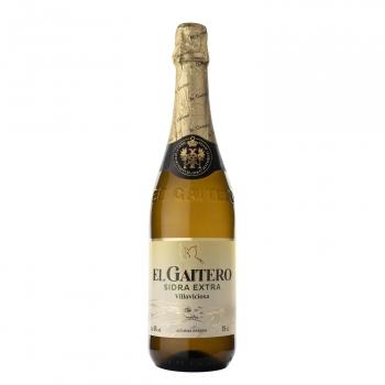 Sidra El Gaitero achampanada extra botella 75 cl.