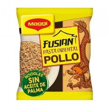 Pasta oriental noodles sabor pollo Maggi Fusian 71 g.
