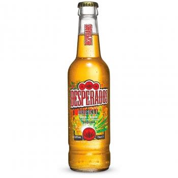Cerveza Desperados sabor tequila botella 33 cl.