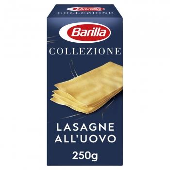 Placas para lasaña al huevo Collezione Barilla 250 g.