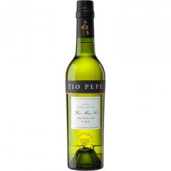 Vino D.O. Jerez fino Tío Pepe 37,5 cl.