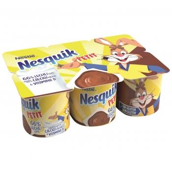 Petit Nestlé Nesquik pack de 6 unidades de 60 g.